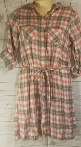 2 for 15.00 Old Navy Plaid Tie Waist Dress